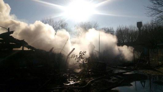 ВКиевской области сгорели два многоквартирных дома
